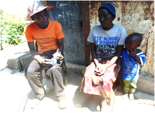 Door to Door TC TB program leaves no-one behind in Makoni district Manicaland province.