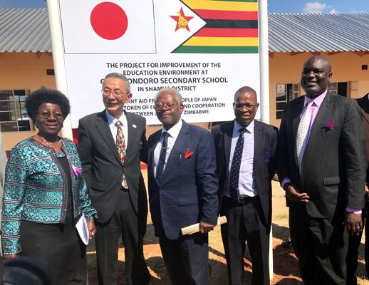 New School Facilities handed over to Chemhondoro Secondary School