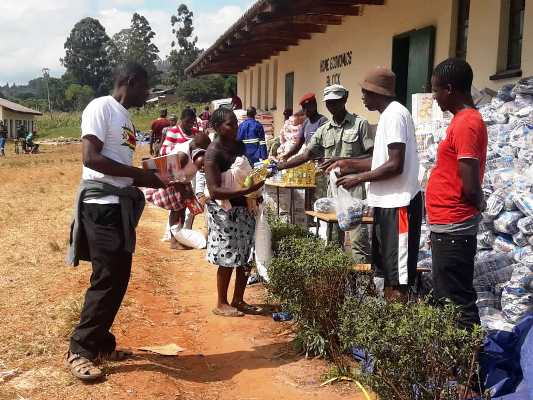 Emergency program for Cyclone IDAI affected Chimanimani