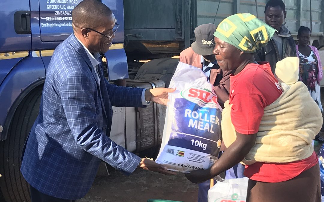 1000 households in Cyclone Idai areas receive food assistance