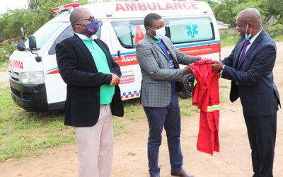 DAPP donates Ambulance to Rusape General Hospital
