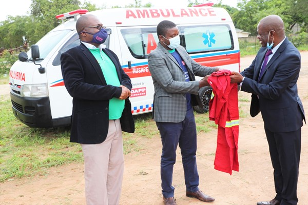 DAPP donates Ambulance to Rusape General Hospital